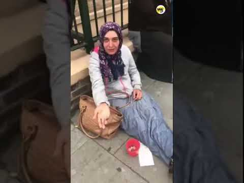 PEOPLE PRETEND TO BE MUSLIMS  FOR MONEY !!