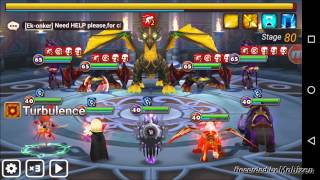 summoners war toa hard floor 80 jamire zaiross craka