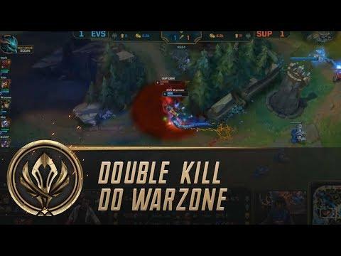 Belo double kill do Warzone!