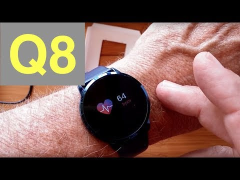 newwear-q8-smartwatch-with-continuous-heart-rate-and-blood-pressure-monitoring:-unboxing-&-review