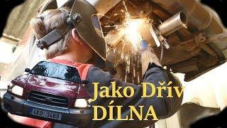 👍Video z dílny jako dřív👉 Opravuji auto Fanouškům 👨👩👧 Vrtání a Sváření u nádrže Subaru Forester 🛠