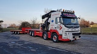 "A little video of our new 82tm lorry loader ""Colossus"""
