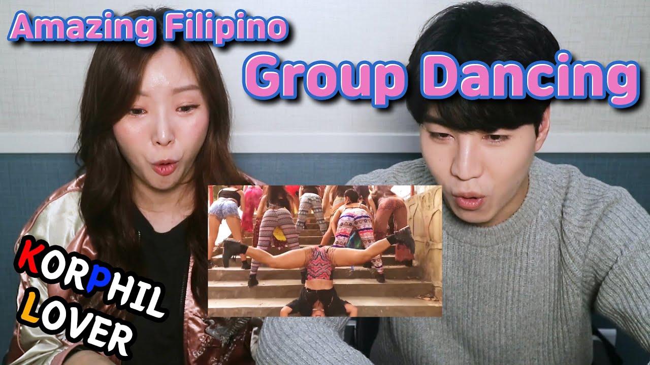 Amazing Filipino Group Dancing with Shakira - Hips Don't Lie Korean Reaction