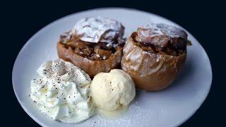 Запеченые яблоки с орехами и медом || Очень вкусный рецепт || Что приготовить осенью