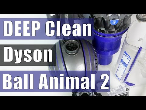 Dyson Ball Animal 2 - DEEP CLEAN - Restore Suction - Troubleshooting