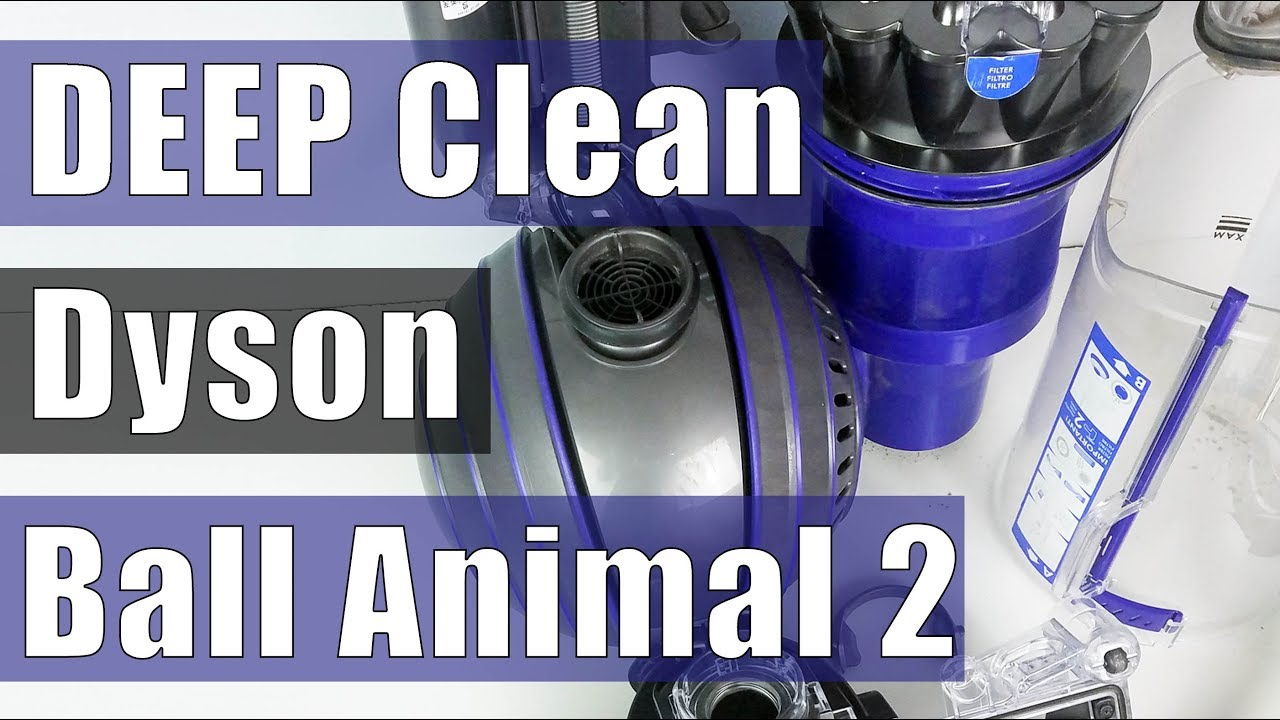 Dyson Ball Animal 2 Deep Clean Re Suction Troubleshooting