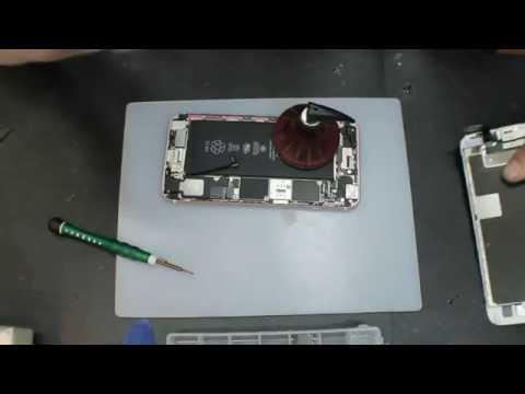 IPhone 6s Plus разбор и ремонт после попадания влаги, жидкости