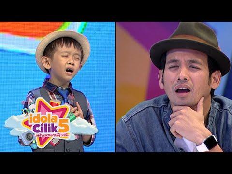 Si kecil Lawrence menghayati nyanyi lagu Bruno Mars [Idola Cilik 5] [5 Des 2015]