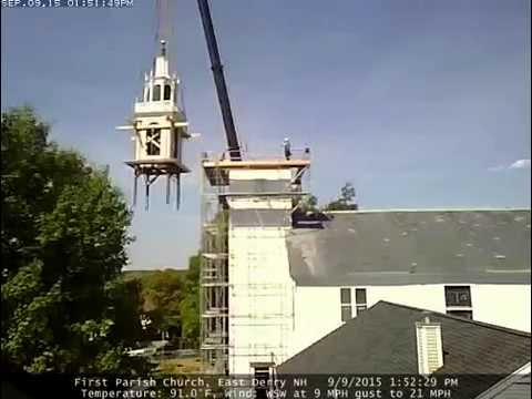 First Parish Church Tower Take Down Time Lapse