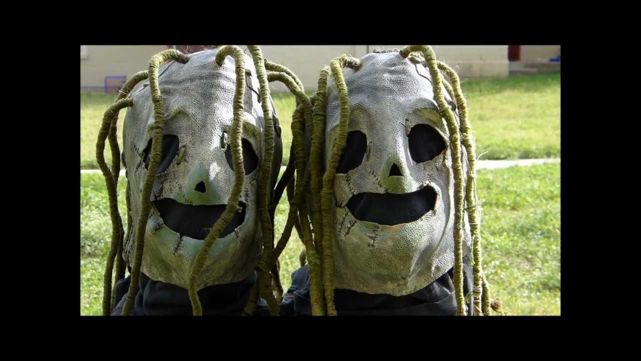 Slipknot 1999 - 2000 Ghost Glow Masks - YouTube