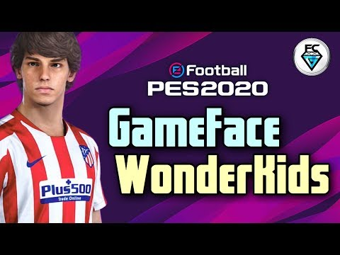 PES 2020: GAME FACE WONDERKIDS