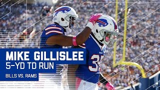 Todd Gurley's Fumble & LeSean McCoy's Long Run Set Up Gillislee's TD! | Bills vs. Rams | NFL