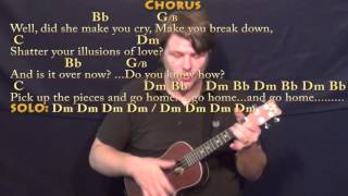 Gold Dust Woman (Fleetwood Mac) Ukulele Cover Lesson with Chords/Lyrics