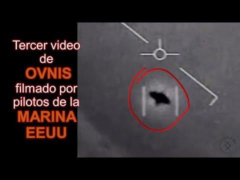 Tercer vídeo de OVNI filmado por pilotos de la Marina de EE UU