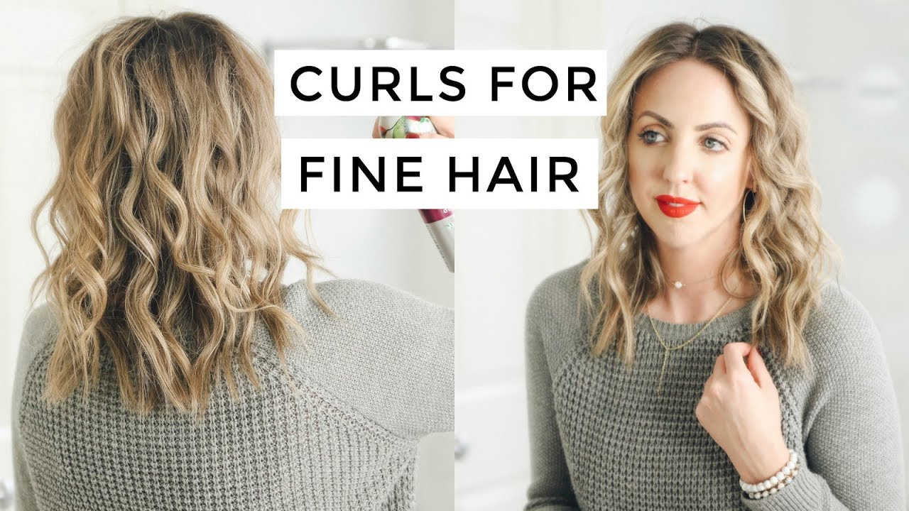 How To Curls For Fine Hair Easy