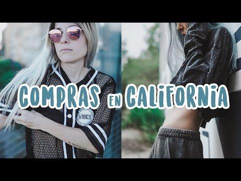 DE COMPRAS EN CALIFORNIA