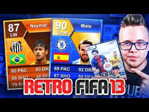 RETRO FIFA 13! ❤ CO ZA SKŁADY?! 😱