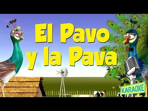 KARAOKE El Pavo y la Pava, con Letra - Canciones de la Granja de Zenón