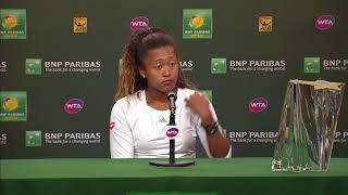BNP Paribas Open 2018: Naomi Osaka Champion's Press Conference