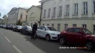 Самокат в Москве лучше электрички - с ветерком, да на одной ноге!