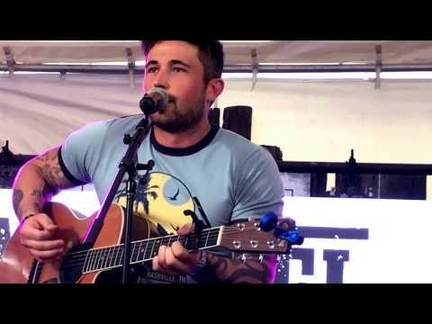 Michael Ray - Get To You - Nashville, TN •CMAFest Sunday Funday Fan Party 2017• (Live) *NEW SONG*