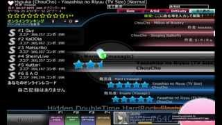DT+HR+HD+FL Spin苦手(・ω・`) Blog:http://otoito.blog.fc2.com/