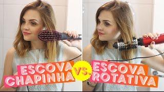 Testados: escova chapinha vs. escova rotativa • Karol Pinheiro