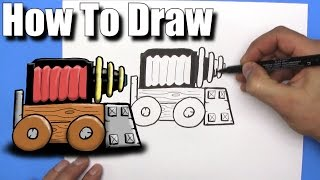 How To Draw Sparky from Clash Royale- EASY- Step By Step