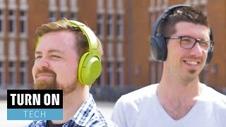 Noise Cancelling ohne Kabel // Bose QC 35 und Sony MDR-100 ABN - TURN ON Tech