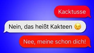 40 WhatsApp CHATS zwischen MÄDELS UND JUNGS!
