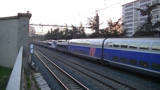 2 BB 67316 Multi-service+10 trains TER+4 trains TGV