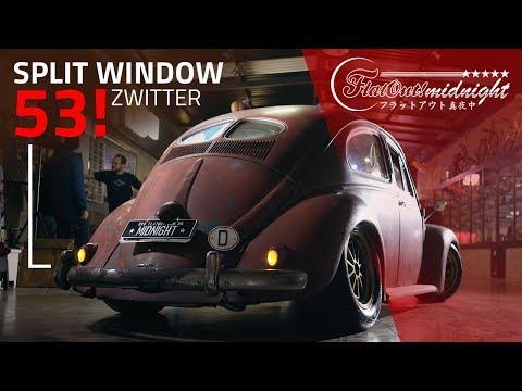 "FUSCA 53 SPLIT WINDOW ZWITTER ""RAT LOOK"": nada de pátina fake!"
