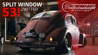"FUSCA 53 SPLIT WINDOW ZWITTER ""RAT LOOK"": nada de pátina fake!"