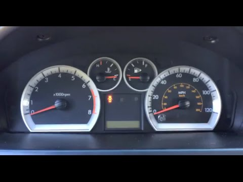 2007 Chevrolet Uplander Engine Diagram My Dash Lights Burned Out Not Working Mysteriously Easy
