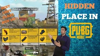 Best Loot For PUBG Hidden Place In Erangel Map Flare Gun Confirm