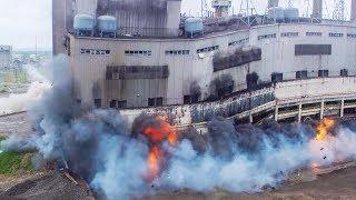 Explotando un edificio