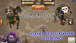 GOLALOON Ayuntamiento 9/Guerra contra Flip_Flop/Clash of Clans