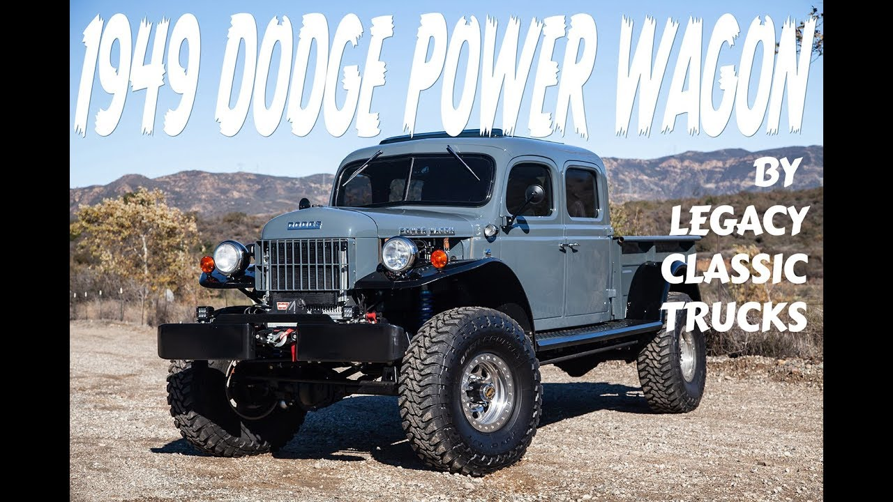 Legacy Classic Trucks 1949 Dodge Power Wagon Big Bold