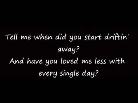 When Did You Stop Loving Me Hunter Hayes lyrics