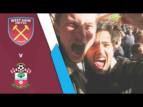 WEST HAM UNITED VS SOUTHAMPTON (Premier League 16/17)