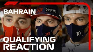 Drivers React After Qualifying | 2021 Bahrain Grand Prix