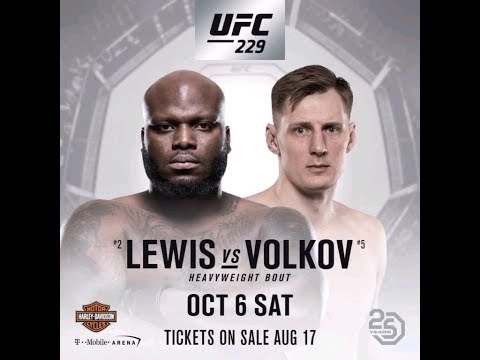 Alexander Volkov Vs Derrick Lewis Full Fight | Александр Волков - Деррик Льюис | Полностью