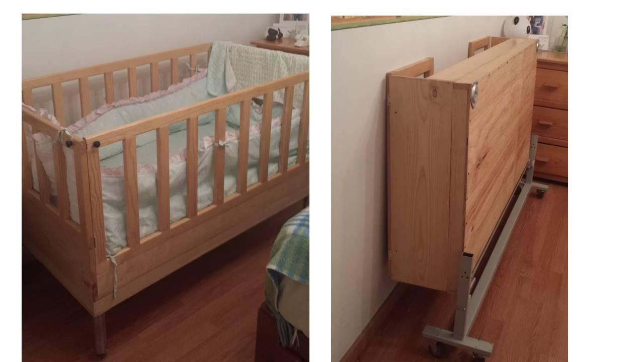 Cuna de madera para bebes youtube - Colchon para cambiador de bebe ...
