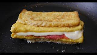 So hast du Eier Toast garantiert noch nicht zubereitet!
