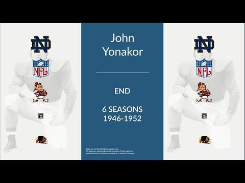 John Yonakor: Football End and Defensive End