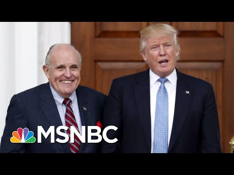 Rudy Giuliani Joins President Donald Trump Legal Team | Morning Joe | MSNBC