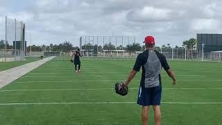 Eduardo Rodriguez, Boston Red Sox lefty, throws during spring training 2019