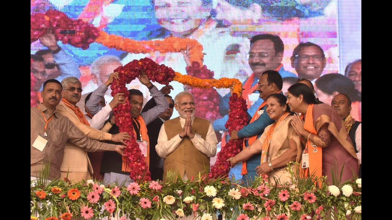 PM Modi addresses Public Meeting in Himmatnagar, Gujarat