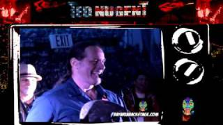Ted Nugent NAMM Jam 2010 Bay Area Backstage