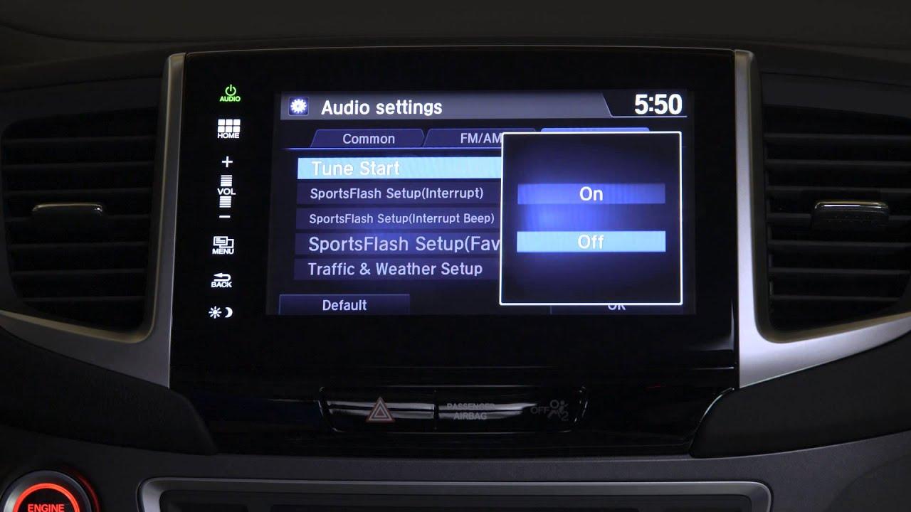 2016 Honda Pilot Ex L Fm Radio Problem You